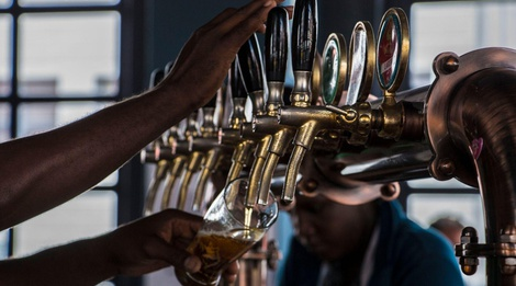 Cape Town city foodie tour - draft beer